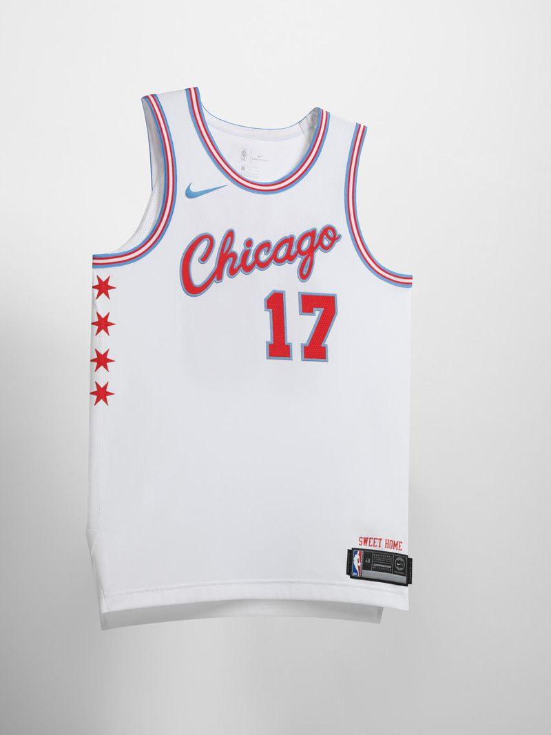 Nike NBA City Edition Uniform Chicago Bulls 0115 native 1600