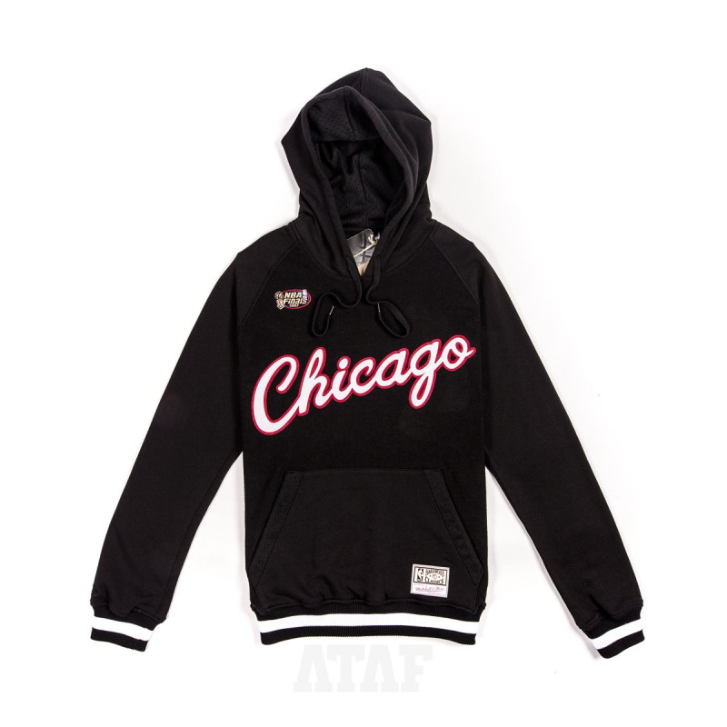 mitchell ness nba chicago bulls 1997 gametime pullover hoodie