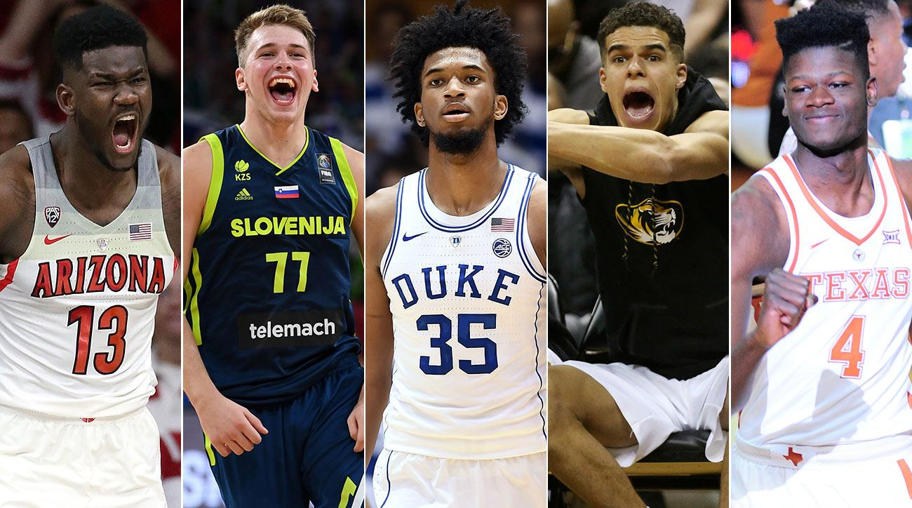 nba draft top pick race